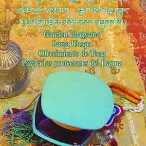 NOVEDAD: Ganden Lhagyama, Lama Chopa, Tsog, Puya a los protectores del Darma