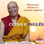 😀 ON LINE CHINESE AND ENGLISH. ´METHODS OF ELIMINATING NEGATIVE EMOTIONS´ by Geshe TenzingTamding.