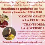 🤗 GRATUITAS ON LINE ENSEÑANZAS DE DARMA. TODAS LAS SEMANAS A CARGO DE LAS MONJAS RESIDENTES DEL MONASTERIO CHU SUP TSANG España). Gratuitas.